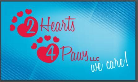 2 hearts logo